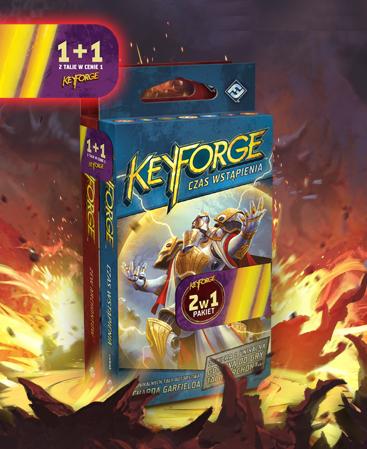 Pakiet KeyForge: Zew Archontów + Czas Wstąpienia - 2 Talie Archonta
