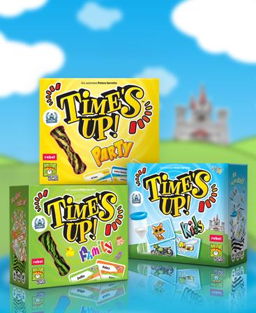 Time's Up! - cała seria w nowych pudełkach