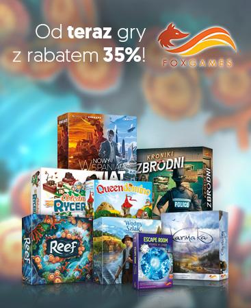 Fox Games - gry z rabatem 35%!