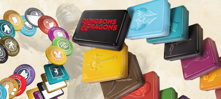 Zestawy znaczników do Dungeons & Dragons