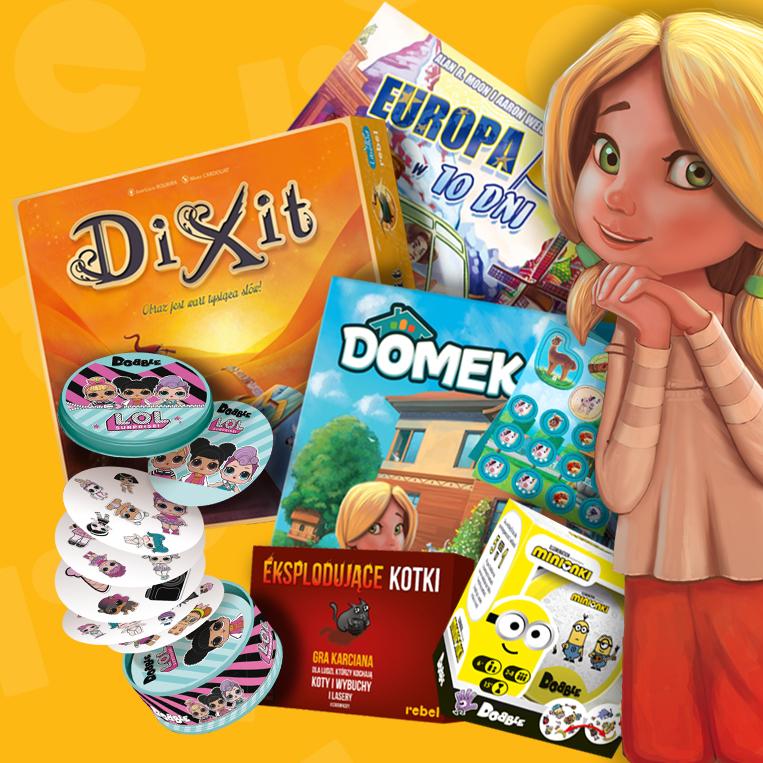 Darmowa dostawa i prezenty z okazji Dnia Dziecka!