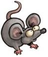 Jedna z myszy odpowiedzialna za karę Króla Popiela