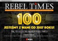 Rebel Times #100 / Styczeń 2016