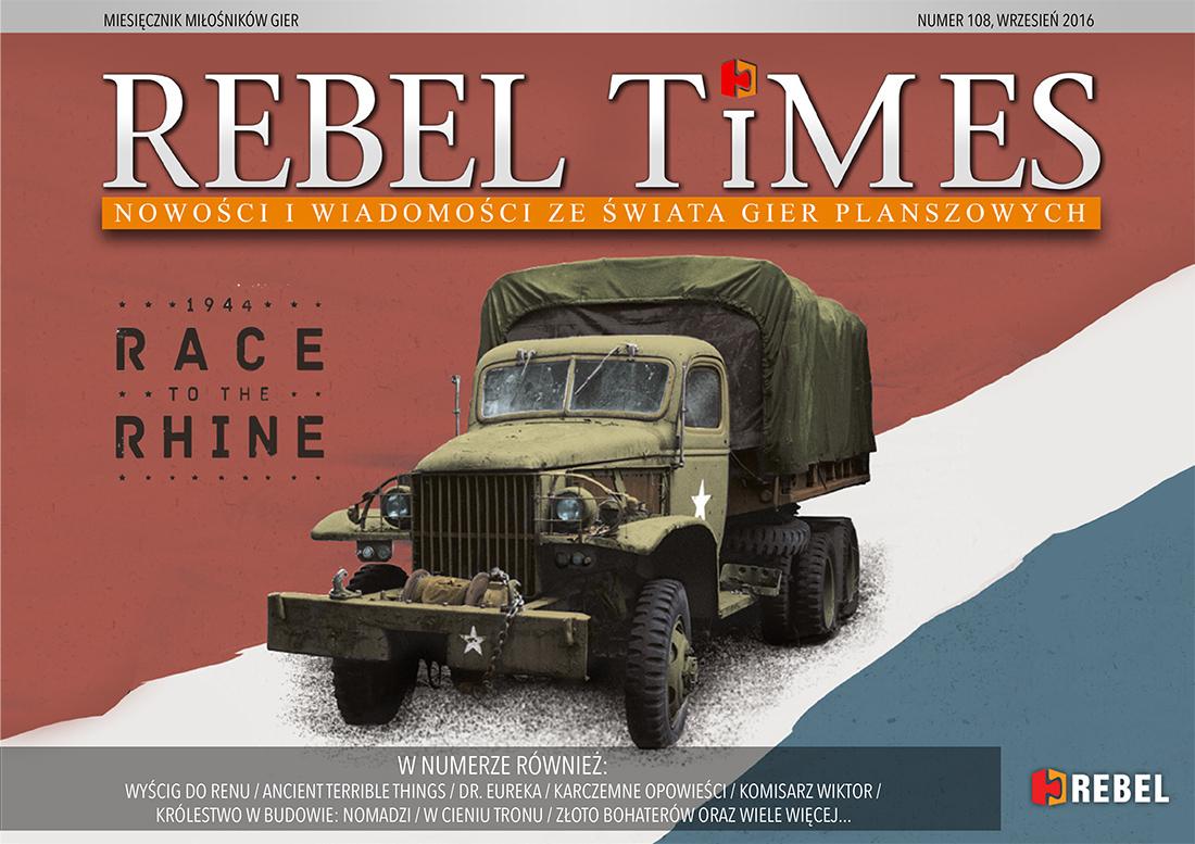 Rebel Times #108 / Wrzesień 2016