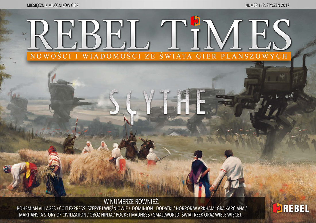 Rebel Times #112 / Styczeń 2017
