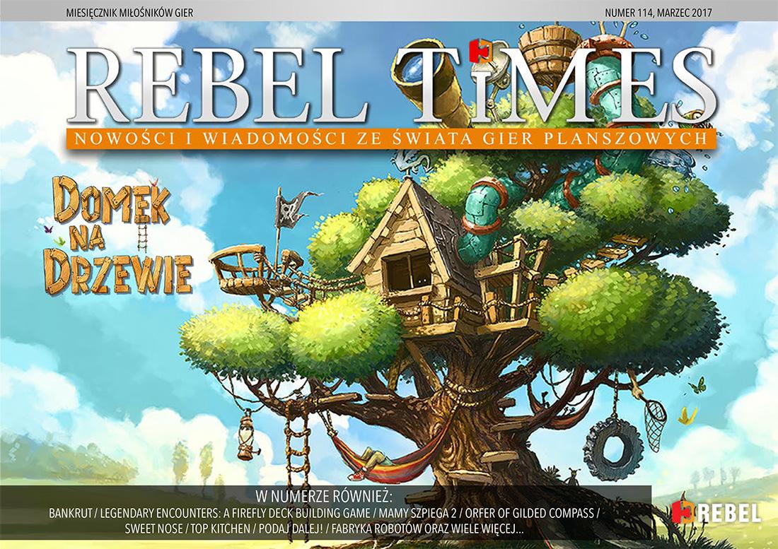 Rebel Times #114 / Marzec 2017