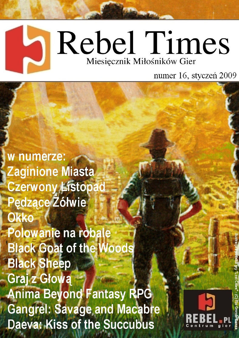 Rebel Times #16 / Styczeń 2009