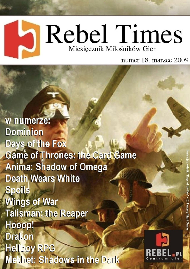 Rebel Times #18 / Marzec 2009