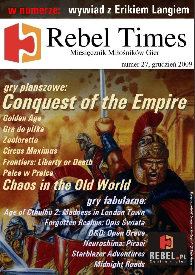 Rebel Times #27 / Grudzień 2009
