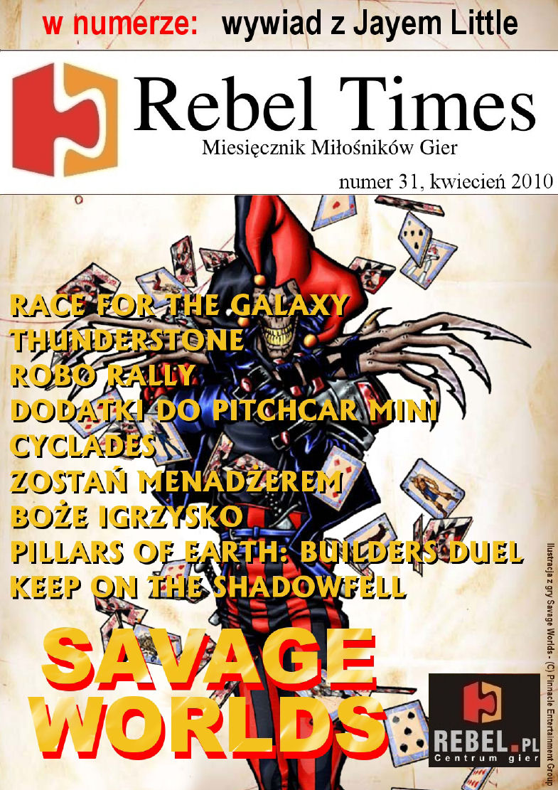 Rebel Times #31 / Kwiecień 2010