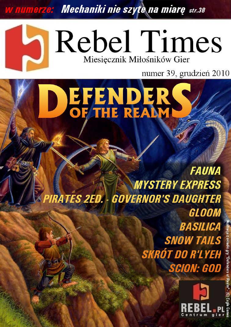 Rebel Times #39 / Grudzień 2010