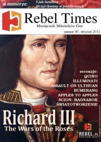 Rebel Times #40 / Styczeń 2011