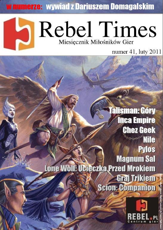 Rebel Times #41 / Luty 2011
