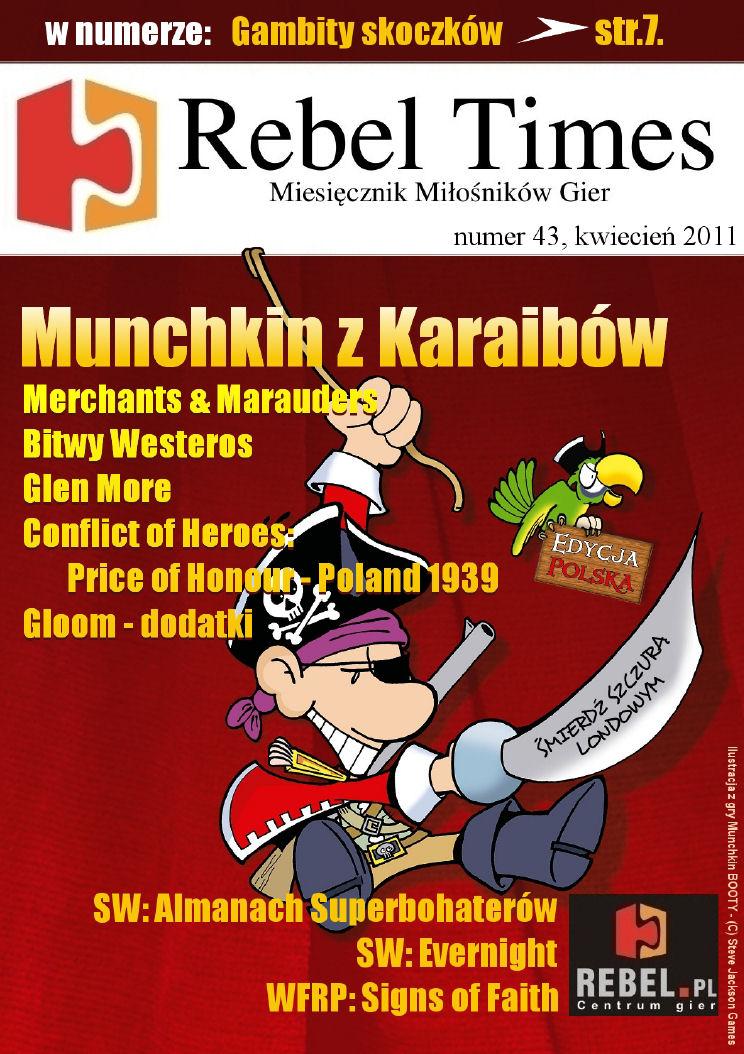 Rebel Times #43 / Kwiecień 2011