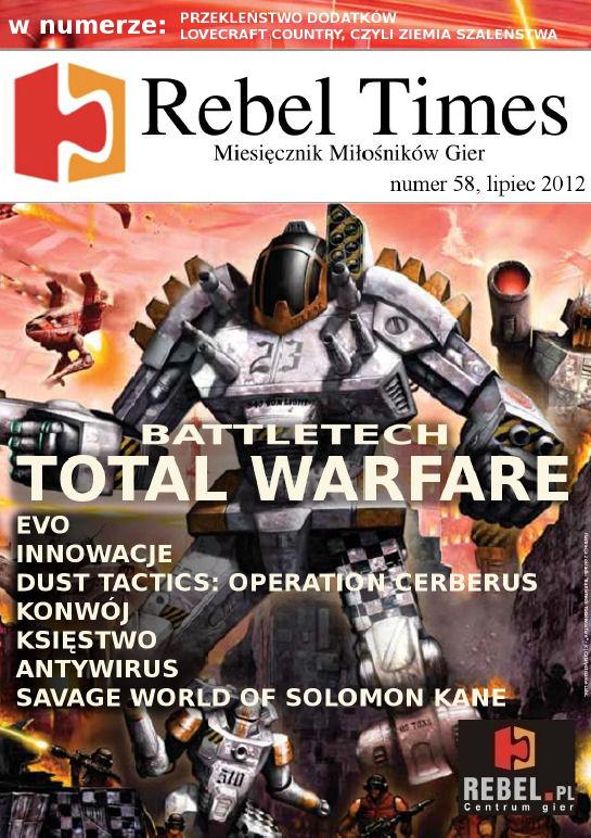 Rebel Times #58 / Lipiec 2012