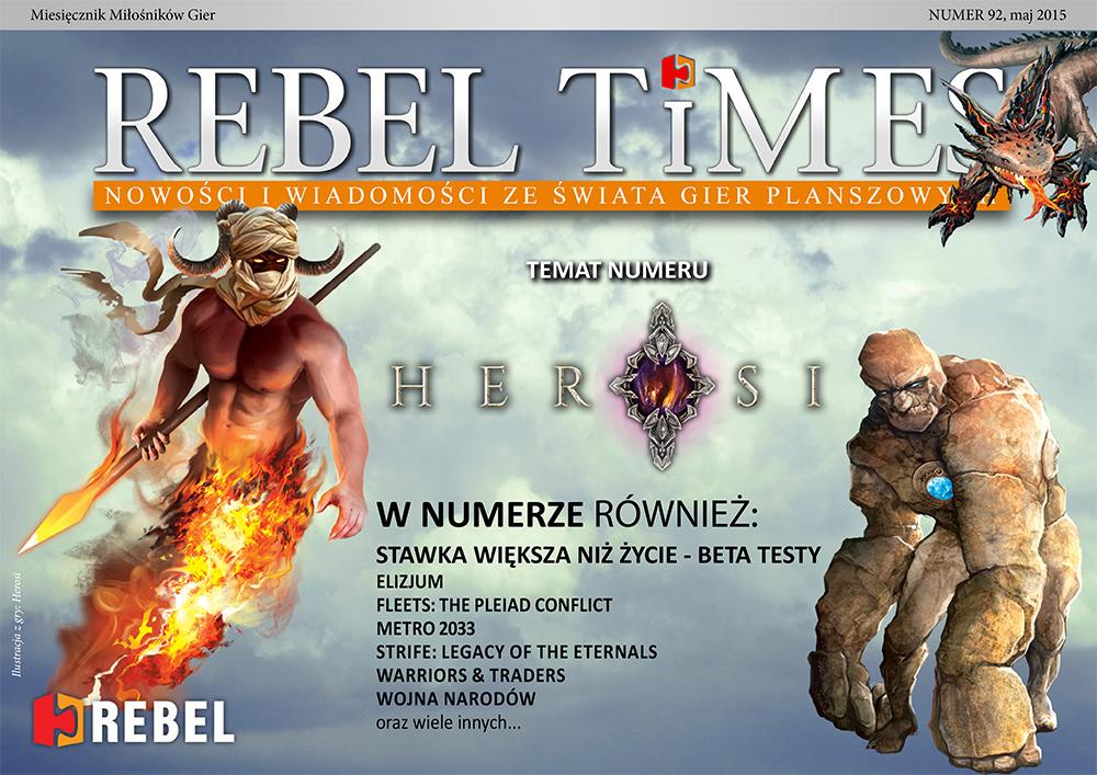 Rebel Times #92 / Maj 2015