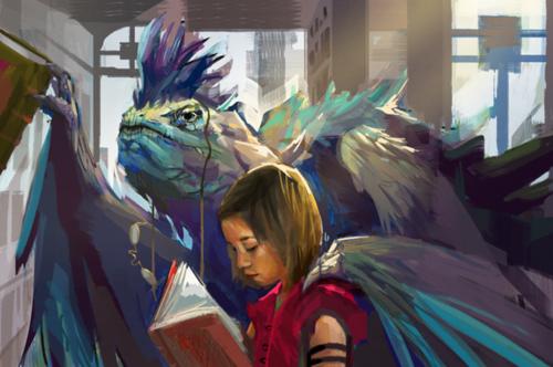 Ptakoludzie uczący czytać dzieci elit