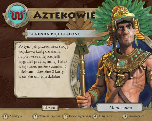 Montezuma - Legenda Pięciu Słońc