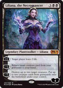 Karta Planeswalker - Lilliana, the Necromancer