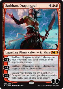 Karta Planeswalker - Sarkhan, Dragonsoul