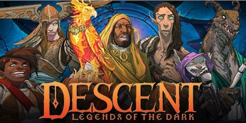 Bohaterowie z Descent: Legendy Mroku