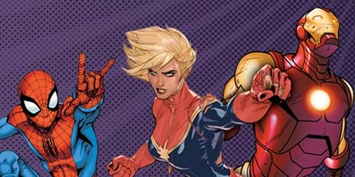 Dołącz do drużyny superbohaterów!