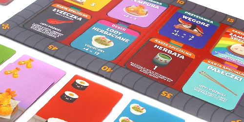 Zabierz przyjaciół na sushi