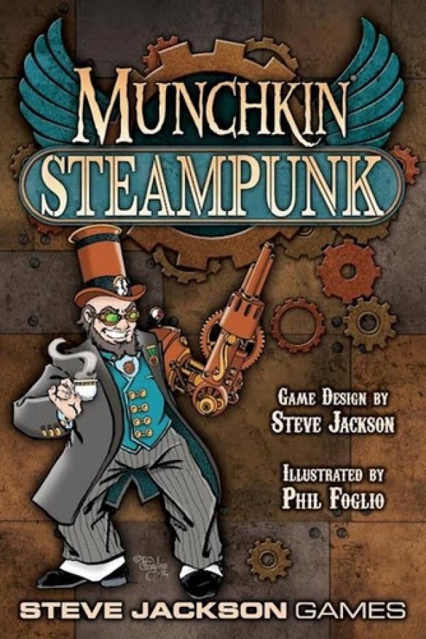 Munchkin Steampunk (edycja angielska)