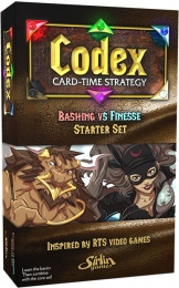 Codex: Card-Time Strategy - Bashing vs Finesse - Starter Set