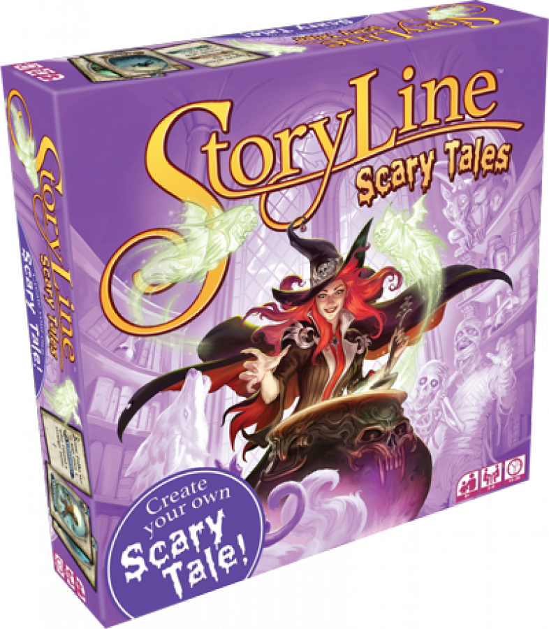 Story Line: Scary Tales