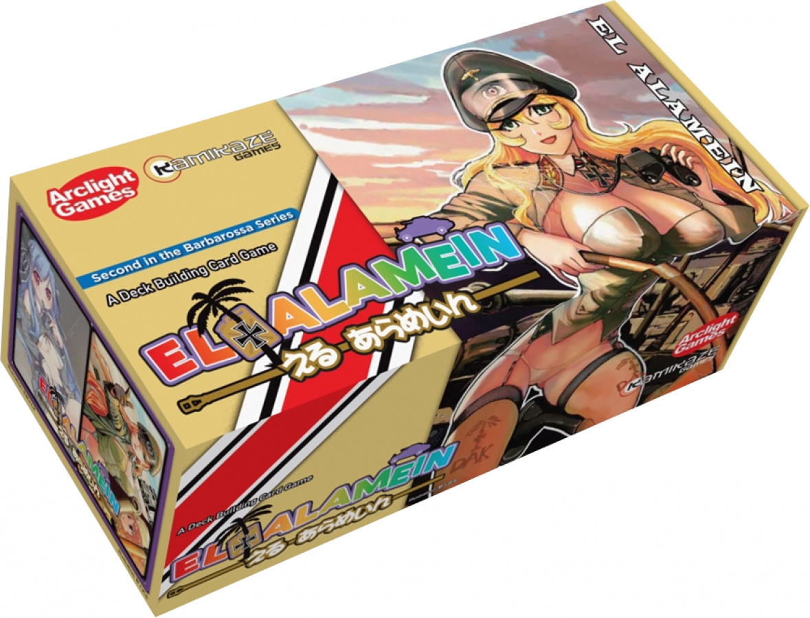 El Alamein: A Deck Building Game