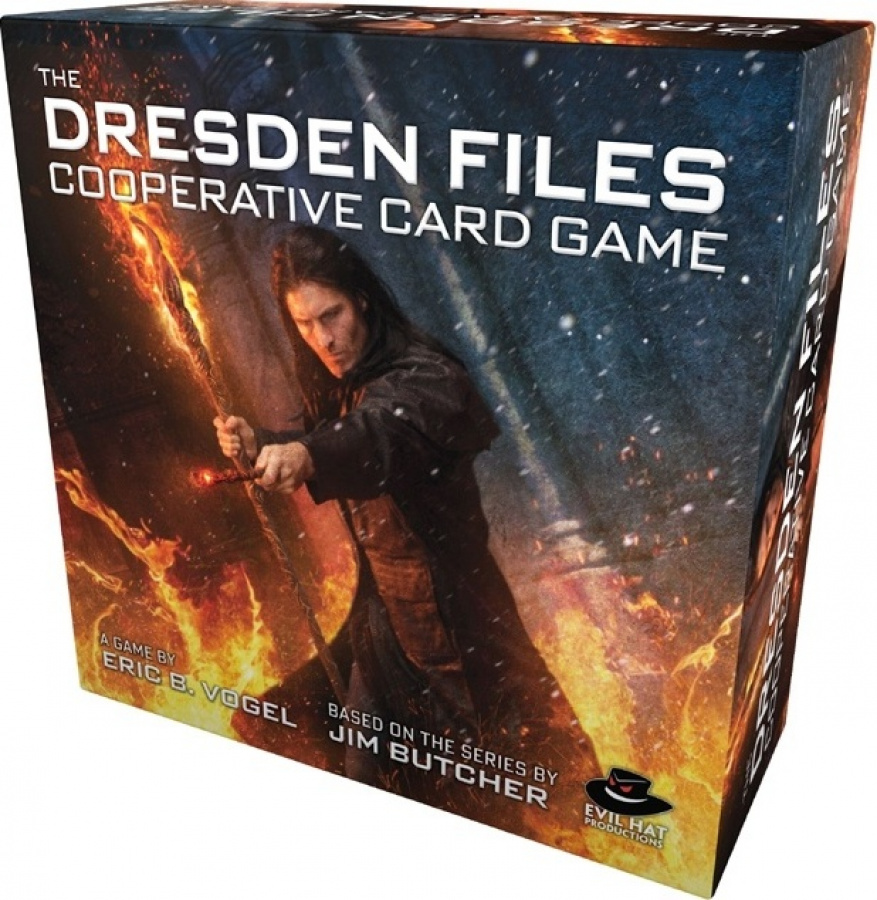 The Dresden Files: Cooperative Card Game