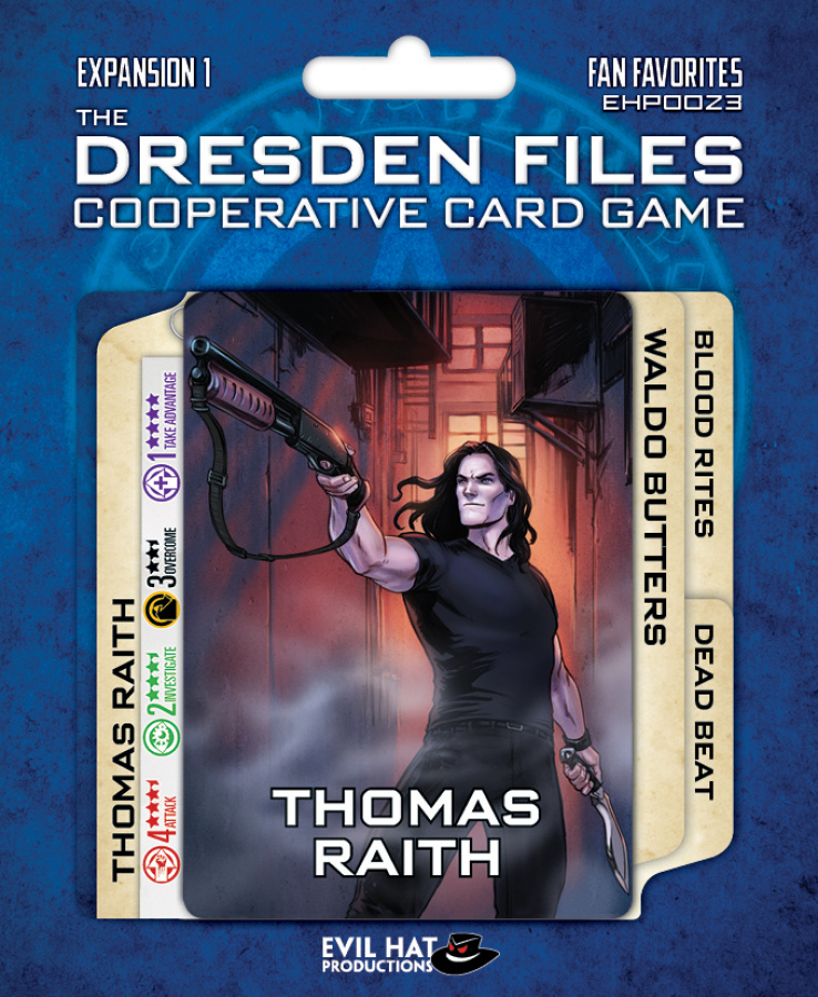 The Dresden Files: Cooperative Card Game - Fan Favorites