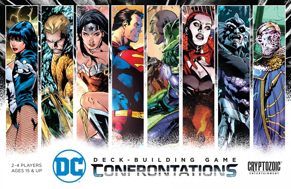 DC Comics: Deck-Building Game - Confrontations