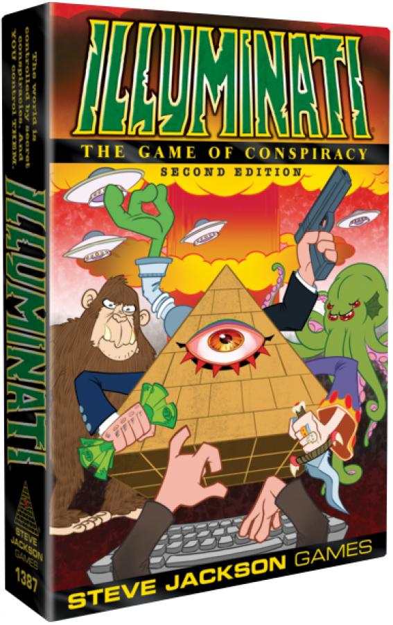 Illuminati: The Game of Conspiracy (Second Edition)