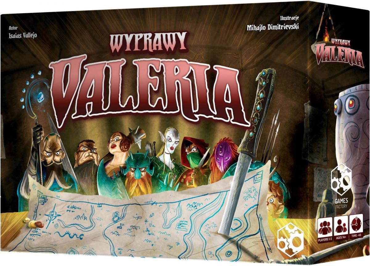 Valeria: Wyprawy