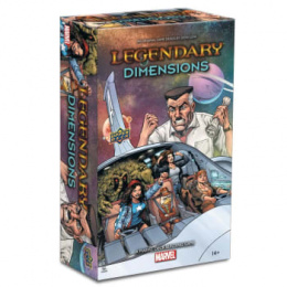 Legendary: A Marvel Deck Building Game - Dimensions (edycja angielska)