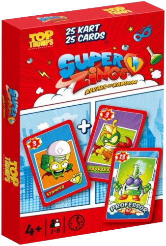 Top Trumps: Super Zings - Rivals of Kaboom (Piotruś)