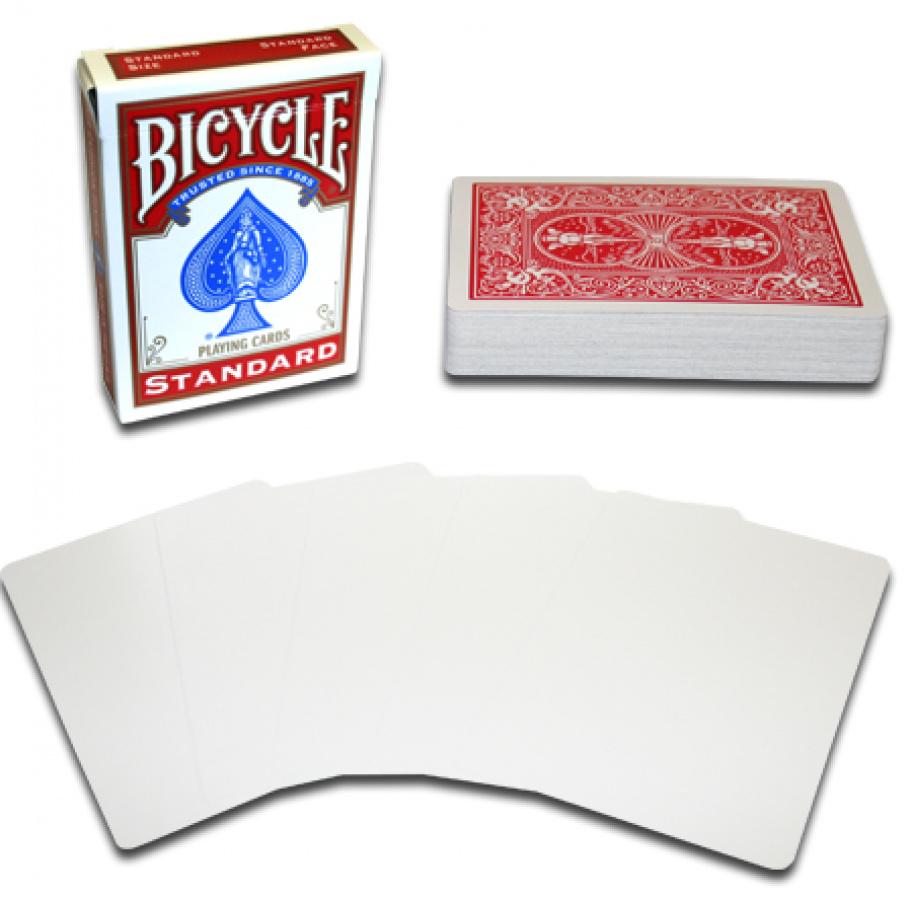 Bicycle: Gaff Blank/Back (z zadrukowanym rewersem)