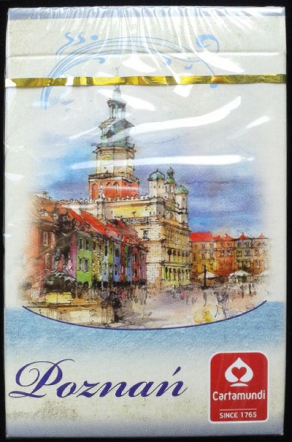 Karty Poznań akwarele 1 talia