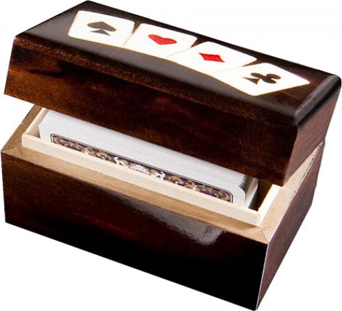 Karty 2 talie - Lux (w pionowym pudełku)