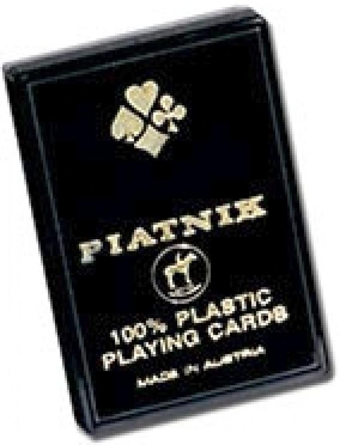 Karty Piatnik - 100% Plastik