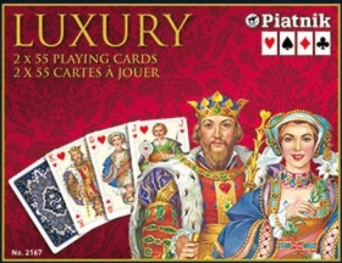 Karty 2 talie - Luxury Piatnik