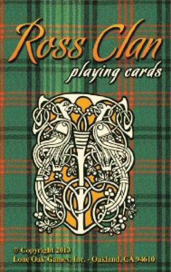 Ross Clan Playing Cards