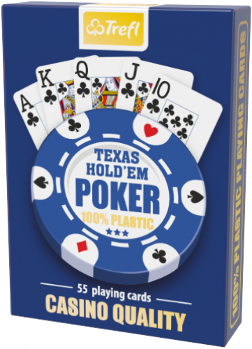 Karty Trefl - Texas Hold'em Poker - Casino Quality 100% Plastic