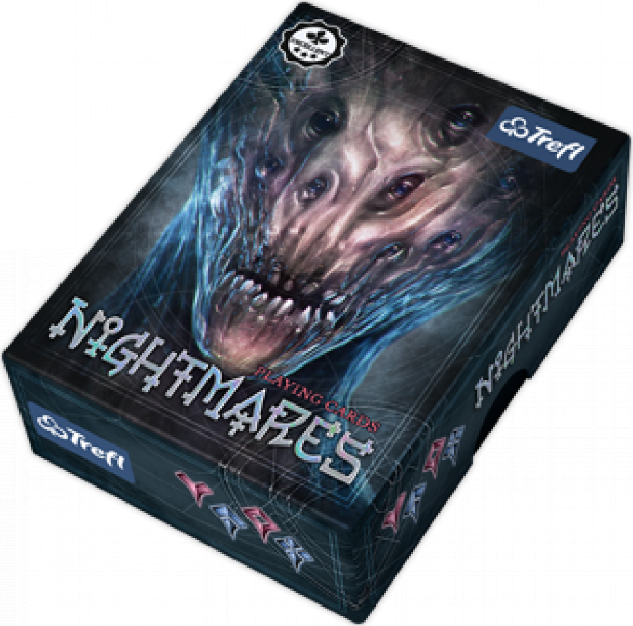 Karty Trefl - Nightmares