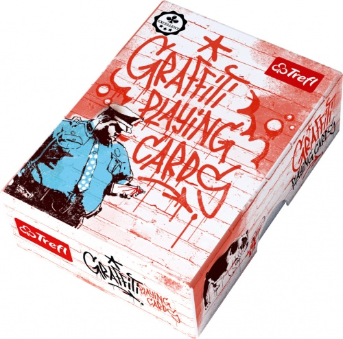 Karty Trefl - Graffiti