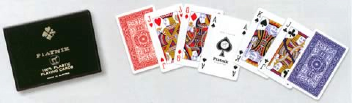 Karty Piatnik - 2 talie - 100% Plastik
