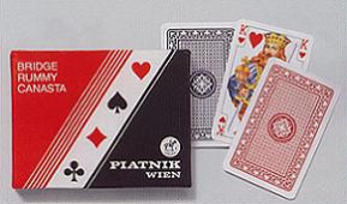 Karty 2 talie - Standard