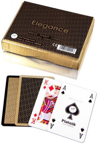 Karty 2 talie Lux - Elegance
